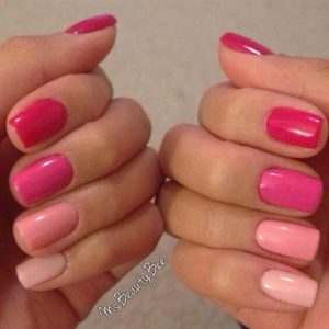 Pink Color Scheme – Fade From Dark Pink To Light Pink