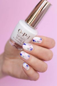 Oil Painting Nail Art Designs