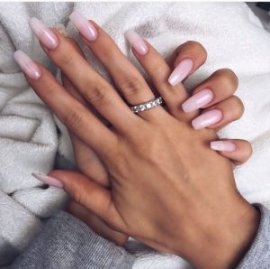 Long and Clear Acrylics