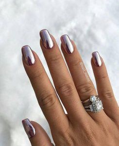 Best Metallic Artificial Nail Designs