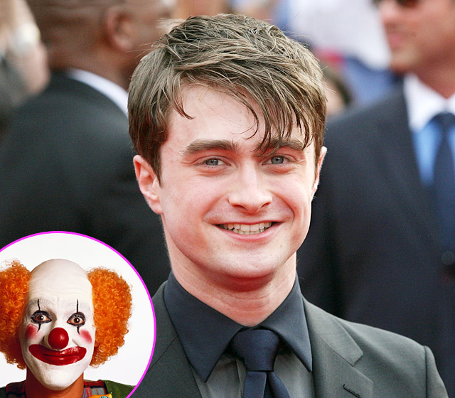 Daniel Radcliff The Harry Potter Actor Has a Fear of Clowns