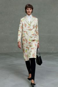 leather prada floral collection