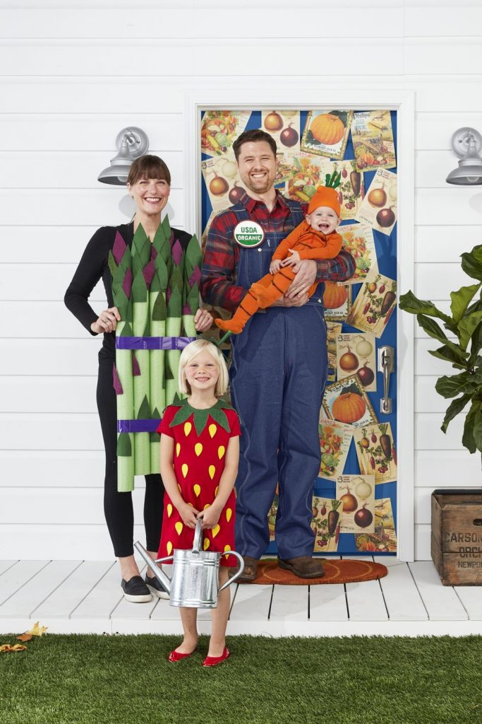 Farmers Market Family Halloween Costume