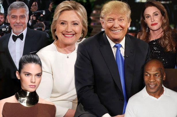 Few Celebrities Who Has Supported Donald Trump for President