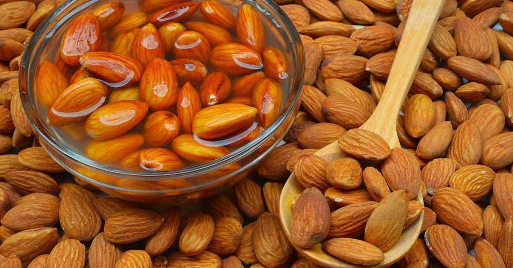 Is soaked almonds are better than raw