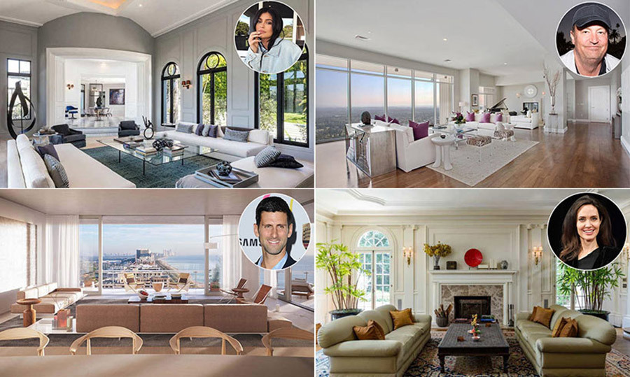 Top Celebrity Homes Voted Best for Lockdown Isolation