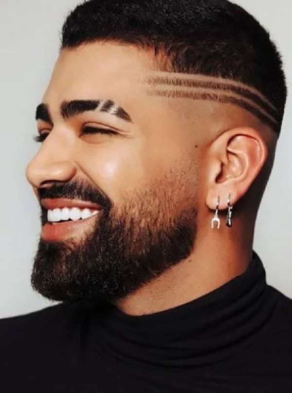 Hairstyle Joining + Eyebrow Slit