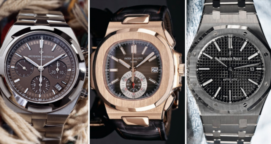 The Top Holy Trinity of Luxury Watches
