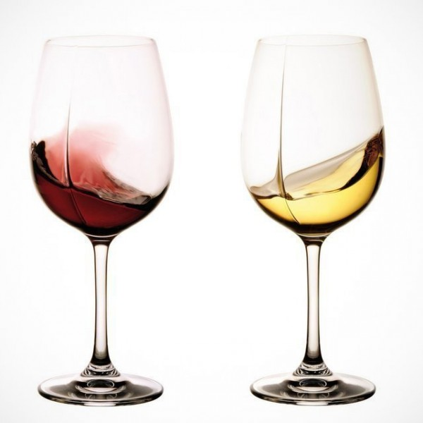 Unique Wine Glasses. Luxury Christmas Gifts for Parents