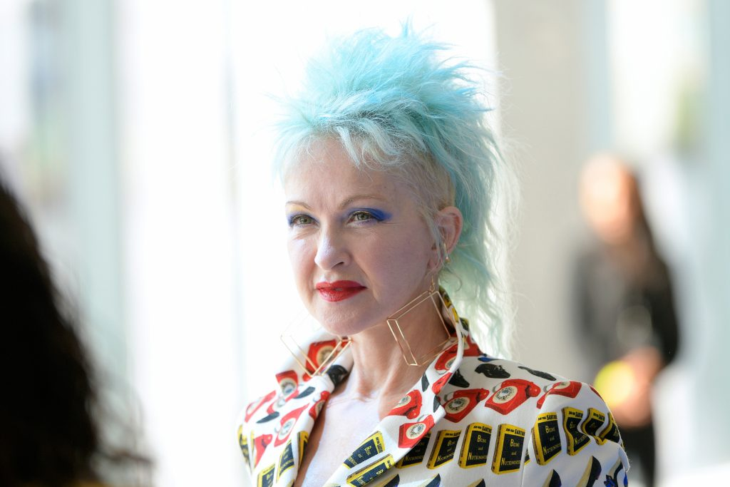 Cyndi Lauper. Celebs Who Have Living with Psoriasis