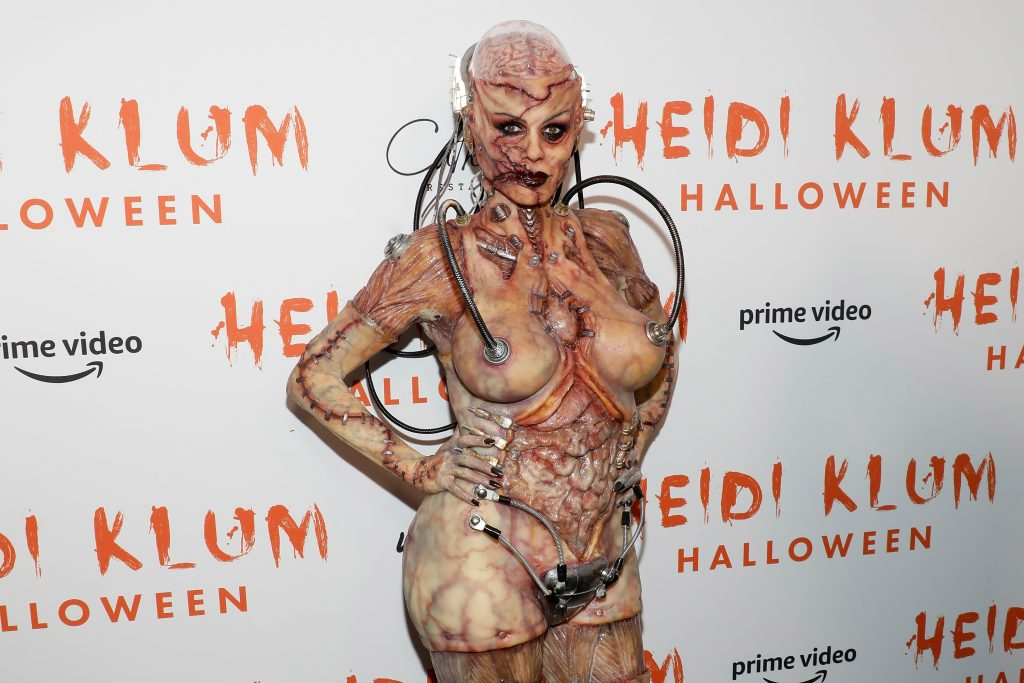 Heidi Klum. Pretty Halloween Makeup Ideas