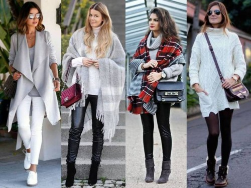 Winter Wear Fashion Clothes. 5 Basic Effortlessly Cozy & Chic Winter