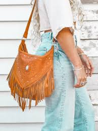 Fringing on the Bags. Summer Wear Dresses