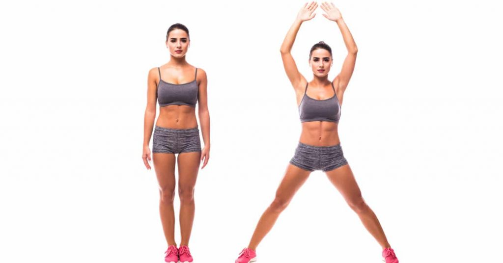 Jumping Jacks. Ways to be Motivated to Workout