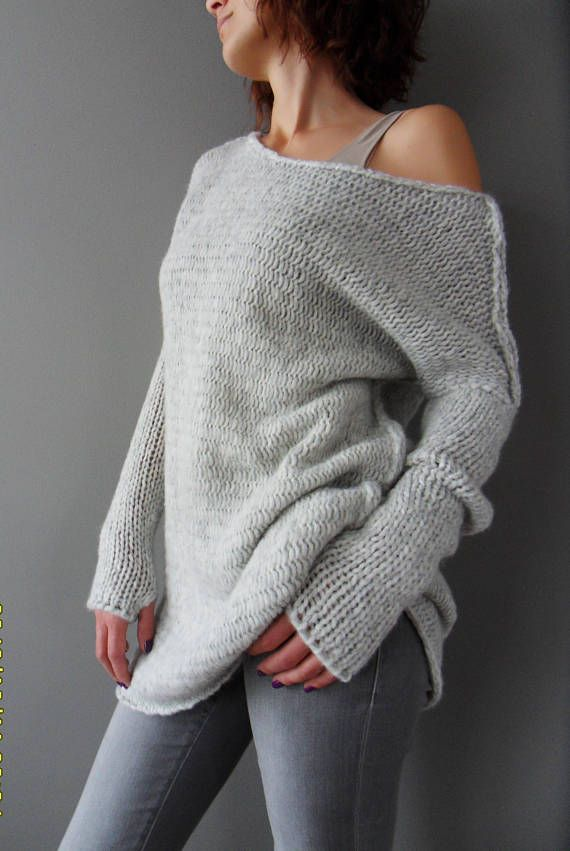 Winter Wear Fashion Clothes. Slouchy Knitwear