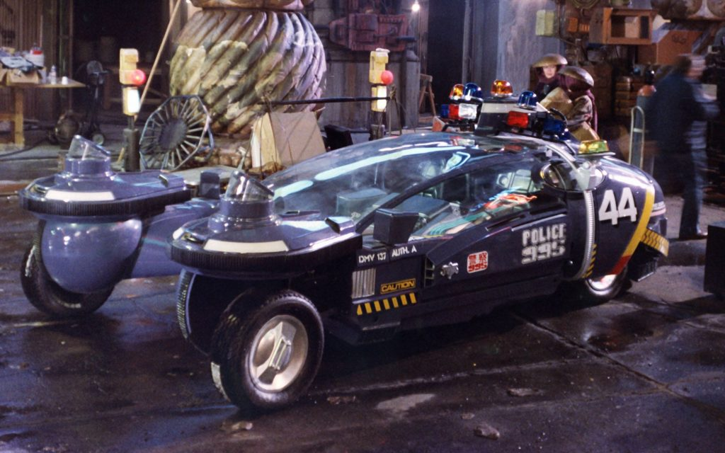 The Police Spinner from Blade Runner and Back to the Future II. Cool Movie Props to Make