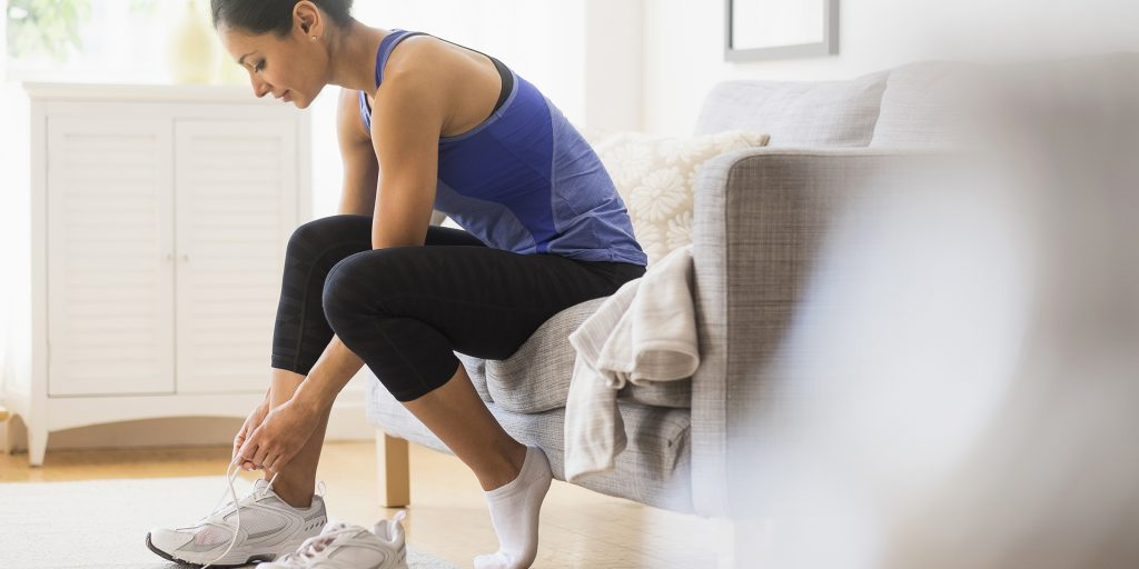 Comfortable Footwear. What to Wear When Working Out at the gym