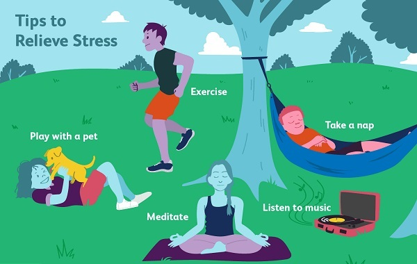 Is Exercise a Stress Reliever. Stress Relieving Exercises for Students