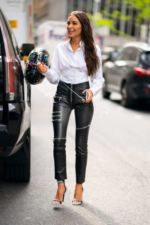 Pair with Leather Pants. Some Cool Ways to Wear a White Shirt & Look Incredible
