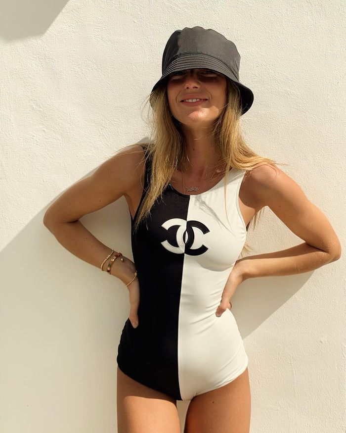 Bathing Suit and a Bucket Hat. Bucket Hat Costume Ideas