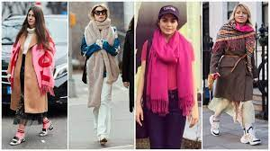 Check Out Top Ways to Wear A Blanket Scarf Like An A-Lister. Best Way to Tie a Blanket Scarf