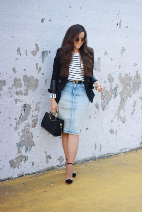 Avoid the Jeans and Go for A Skirt. Office Outfit Ideas for Women
