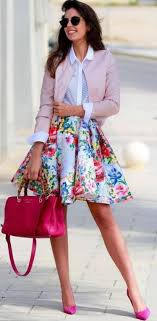 Designed Dress Outfit. Office Outfit Ideas for Women