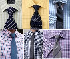 The Best Shirt and Tie Combinations with a Check Shirt. Men's Summer Dress Shirts