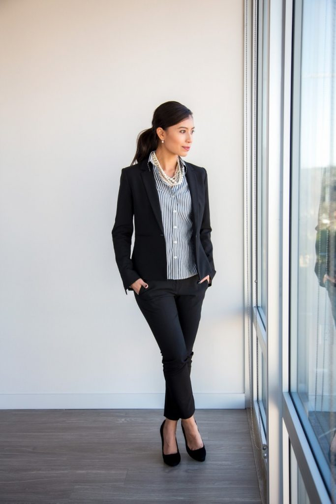 The Original Business Casual Look. Office Outfit Ideas for Women