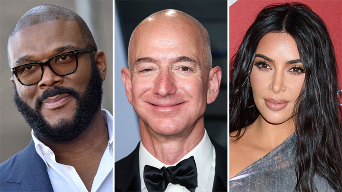 The Top 6 Celebrities on Forbes' 2021 List
