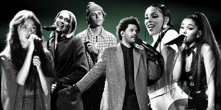 Top 10 Hit Songs in the First Half of 2021